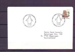 Norge  - Den Norske Antarktis Ekspedisionen - Dronning Maud Land 1/2/1990  (RM6161) - Pingouins & Manchots