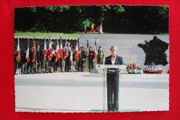 SENNECEY LE GRAND - 60e ANNIVERSAIRE DE LA LIBERATION. LE DISCOURS DE MICHELE ALLIOT-MARIE MINISTRE DE LA DEFENSE - - France