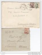 Michetti  Miano Teramo Siena Castellammare Adriatico - Storia Postale