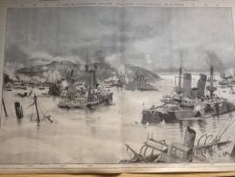 1905 RADE DE PORT ARTHUR / GUERRE RUSSO JAPONAISE / B�N�FICES DE LA GLOIRE  Par HENRIOT / TIRAGE AU SORT DES CONSCRITS