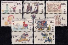 Tchécoslovaquie 1979 N°Y.T. : 2345 à 2349 ** - Unused Stamps