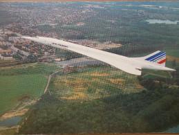 AVIA - CONCORDE - Quadriréacteur Supersonique. - 1946-....: Moderne
