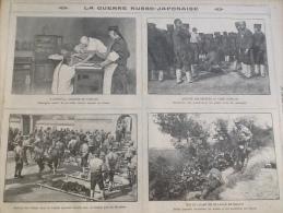 1905 GUERRE RUSSO JAPONAISE / CALENDRIER 1905 / LE JOUR DES ROIS Par HENRIOT