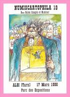 CPM  W. SIUDMAK  Pour Numiscartophila 19 Albi Mars 1996 +autographe Du Dessinareur - Andere Illustrators
