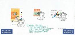 Hong Kong 2004 Olympic Games Beijing Bid Scouting Cover - 1997-... Speciale Bestuurlijke Regio Van China