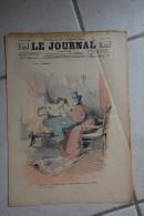 Le JOURNAL pour tous-9 fevrier 1898-dessin Lourdey-bibi et guguste au cafe concert par Belon-dessins Moriss