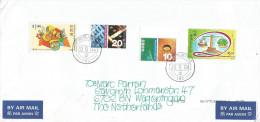 Hong Kong 2004 Scissors Paper Stone Children Game Millennium Computer Cover - 1997-... Speciale Bestuurlijke Regio Van China