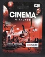 CINEMA GIFT CARD - Gift Cards