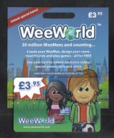 WEEWORLD GIFT CARD - Gift Cards