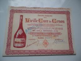 VIEILLE CURE DE CENON (2500 Francs) GIRONDE - Actions & Titres
