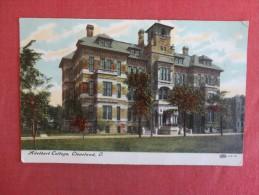 Ohio> Cleveland   Adelbert College   ref 1462
