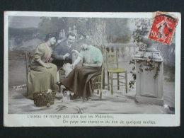 Ref3342 WA Carte Photo - Midinettes Stebbing Phot. 1909 - VBC Série N°3203 -  Marque Etoile Emaillographie - Parejas