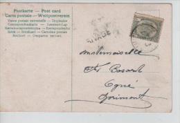 TP 53 S/CP C.Liège En 1905 + Griffe Rivage PR1023 - Postmark Collection