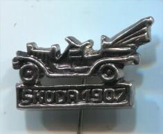 SKODA 1907 - Oldtimer, Car, Auto, Vintage Pin, Badge - Pins