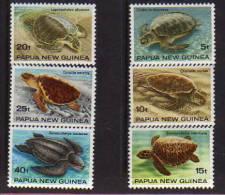 Papouasie. Tortues De Mer. 6 T-p Neufs **. Yv.# 466/71. - Papouasie-Nouvelle-Guinée