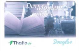 Germany - Allemagne - Douglas + Thalia - Parfum Flacon - Carte Cadeau - Carta Regalo - Gift Card - Geschenkkarte - Treuekarten
