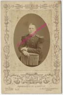 Grand CDV-(CAB) -soldat 103e R--photographie De La Bastille-Mulot Fils à Paris - War, Military