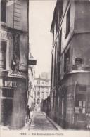PARIS  V°   Petite Rue SAINT JULIEN Le PAUVRE  Commerce Angle Rue GALANDE - Arrondissement: 05