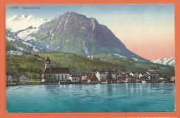 DAC-02 Beckenried , Circulé Sous Enveloppe En 1914 - NW Nidwalden