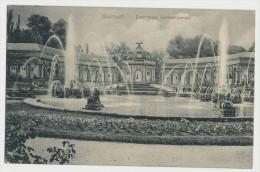 Bayreuth Eremitage Sonnentempel Feldpost 1915 E / R - J - R. Nr. 4 2. Garn. Komp.