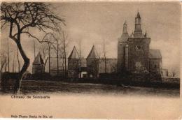 NAMUR   5 CP Sombreffe    Château Nels 76 N°40   1902  Village Nels 67 N°28  1903  Nels 67n°13 Vieux Château Ensemble - Sombreffe