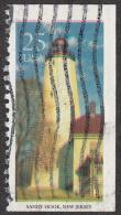 Timbre Des Etats-Unis 1990 '' Yvert  1900 '' 25 C. '' Sandy Hook '', New Jersey - Fari