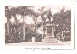 COLUMBIA COLOMBIA Cartagena BOLIVAR PARK J V MOGOLLON & CIA EDITORES - Colombie