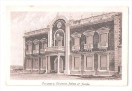 COLUMBIA COLOMBIA Cartagena PALACE OF JUSTICE J V MOGOLLON & CIA EDITORES - Colombie