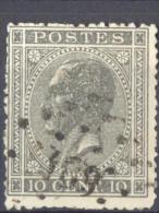 4Wv-889: N°17A: Ps189: HOOGLEDE - 1865-1866 Profil Gauche