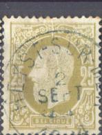 4Wv-885: N° 32: E9:  HEYST-SUR-MER - 1869-1883 Leopold II
