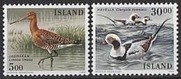ISLANDE 1988 - Oiseaux D´Islande - 2v Neuf ** (MNH) - 1944-... Republique