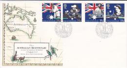 Great Britain 1988 Australian Bicentenary FDC - FDC