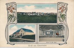 GERMANY:  Gruss Aus Ebernhahn, Multi-View, Total-Ansicht, Gastwirtschaft, Blick In Den Saal - # 335, 1919 - RARE - Altri