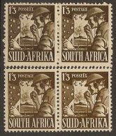 SOUTH AFRICA 1941 1/3 Shades SG 94/a HM #CM413 - África Del Sur (...-1961)