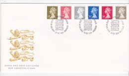 Great Britain 1993 Definitives FDC - FDC