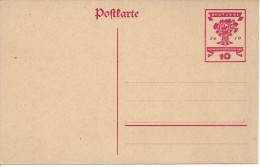 Germany 1919 Postkarte 10pf  (*) Mi. P115 - Germany