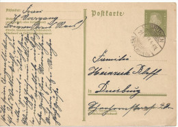 Germany 1932  Postkarte 6pf  (o) Mi. P 199 (Brunen 24.4.33) - Germany