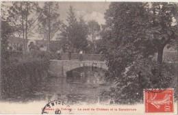 CPA 94 LE PLESSIS TREVISE Le Pont Du Château Et Le Sanatorium 1908 - Le Plessis Trevise