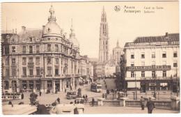 Anvers: ANTIQUE AUTOMOBILE/CAR & TRAM/STRAßENBAHN - Canal Au Sucre / Suikerrui - Antwerpen - (B) - Toerisme
