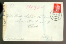 Lettre Brief ( B 197 )  Duitsland   Krijgsgevangen ( Brief Erin ) Gemeinschafslager Friedrichshöhe Bernburg - Saale - Allemagne