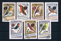 Rumänien 1966 Vögel Mi.Nr. 2500/07 Kpl. Satz Gest. - Oblitérés
