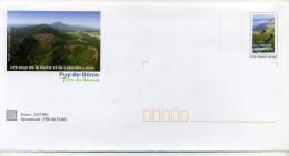 PAP  LES VOLCANS D'AUVERGNE - Postal Stamped Stationery