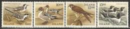 Iceland 1986 Mi# 644-647 ** MNH - Birds - Unused Stamps