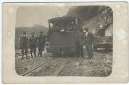 Locomotive à Le Lioran (15) ???  - Carte Photo D'1 Loco à Identifier - France