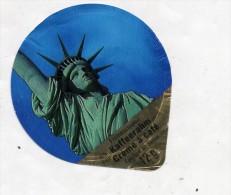 opercule  de creme statue de la liberte