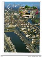 3506 - REDON - Le Port De Plaisance - Ecluse Du Canal De Nantes à Brest - Vue Aérienne - Redon