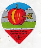 opercule  de creme pomme