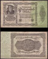 Weimarer Republik , Infla 50.000 Mark , 1922 , RB-79 A , VG - [ 3] 1918-1933 : Weimar Republic