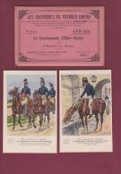 MILITARIA - 240814 - BUCQUOY UNIFORMES DU PREMIER EMPIRE -  173 GENDARMERIE D'ELITE - Pochette 8 Planches - - Uniformi