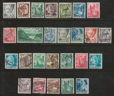 RHEINLAND -PFALZ 1947, Cancelled Stamp(s) 26 Famous People 1=41, #16028 - American/British Zone